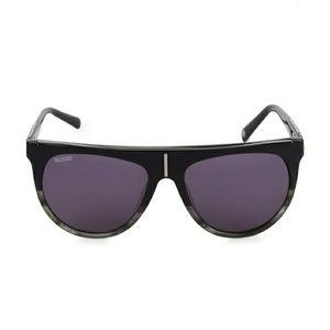 New Balmain 57MM Shield Sunglasses